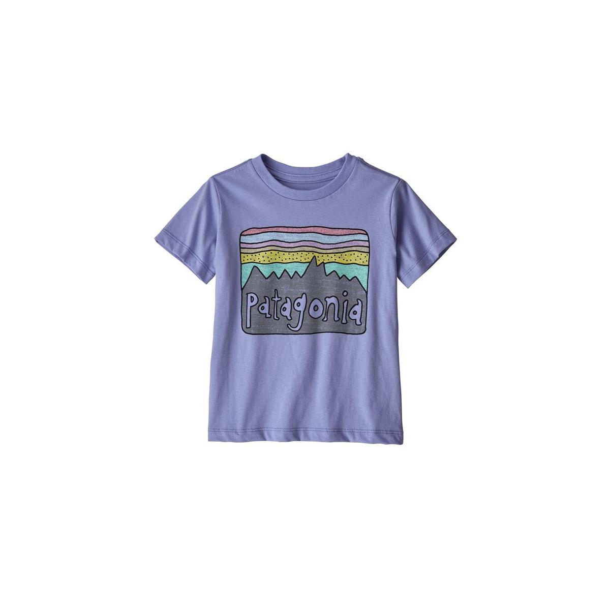 b0eddb4738a Patagonia Baby Fitz Roy Skies Organic T-Shirt - Gearhead Outfitters