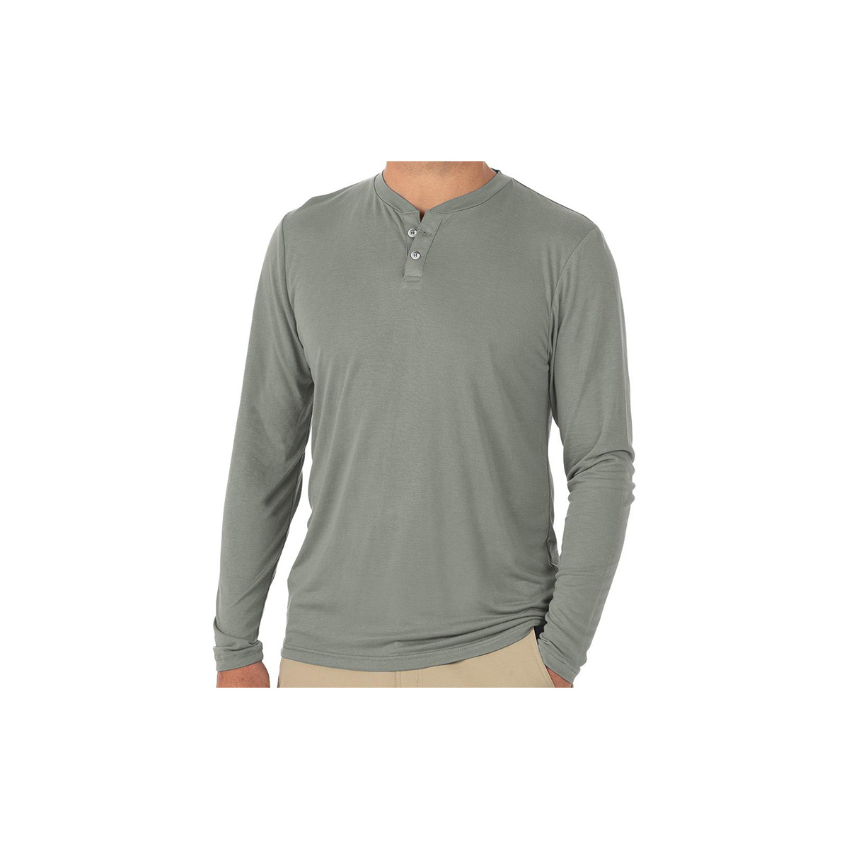 Free Fly Apparel Men's  Bamboo Cruiser Henley