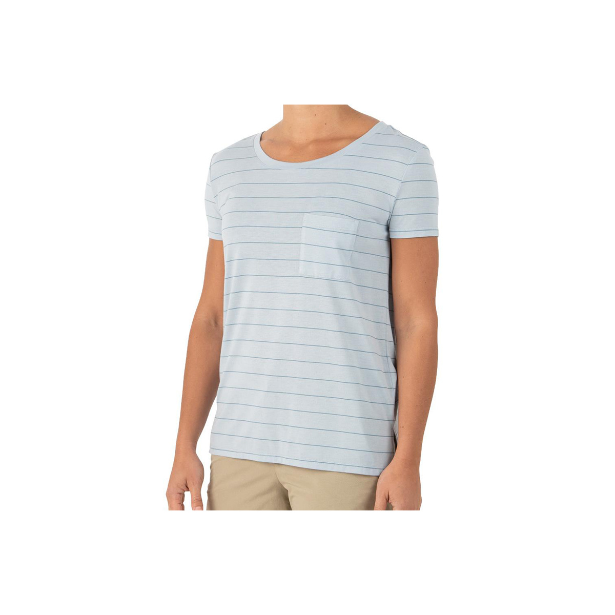 Free Fly Apparel Women's  Bamboo Channel Pocket Tee