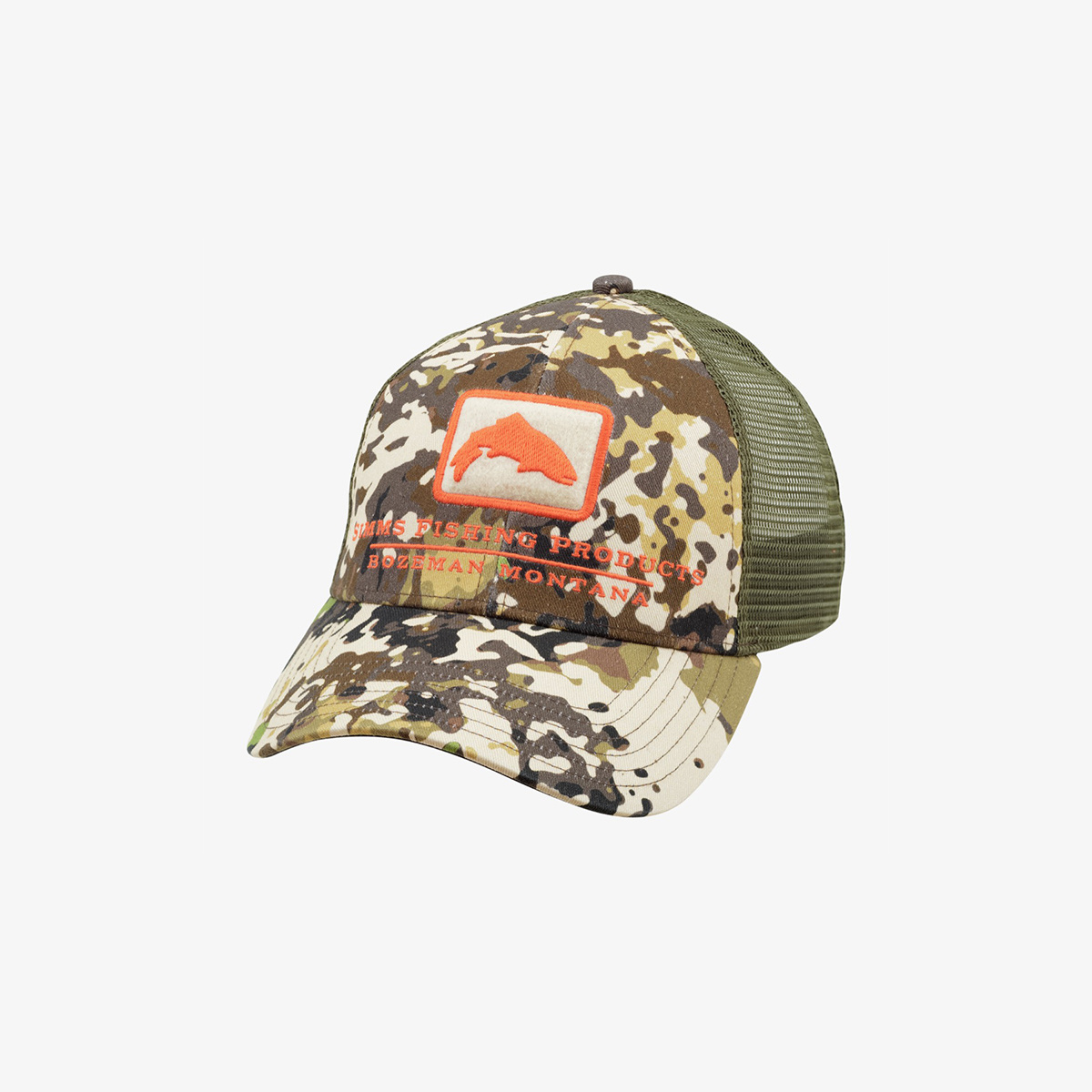 Simms Clothing Trout Icon Trucker