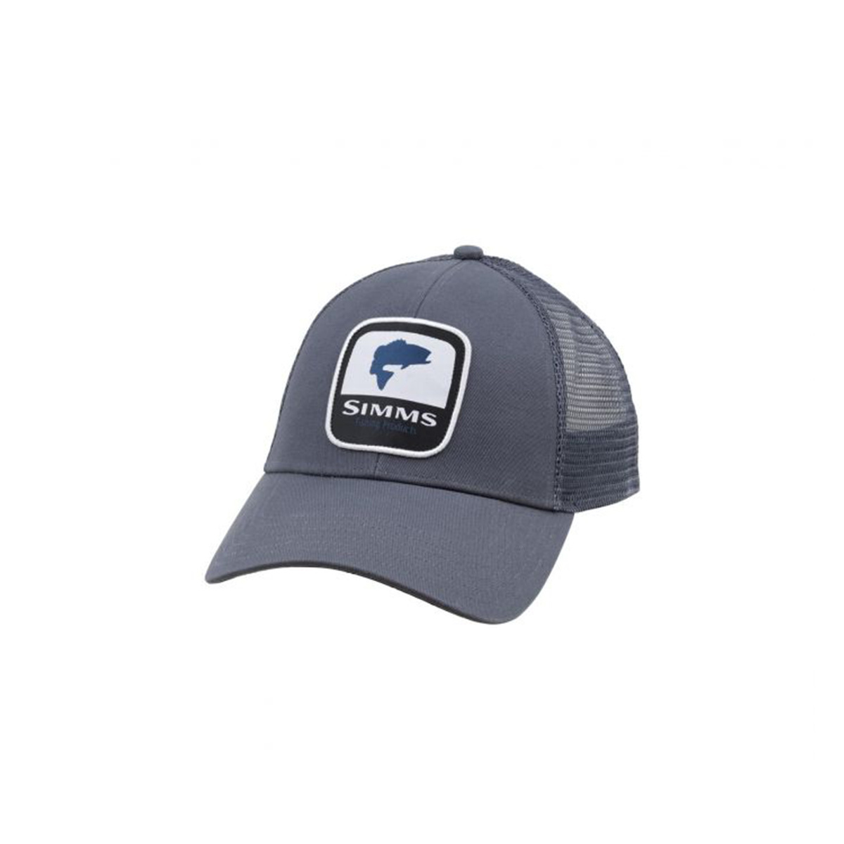 a7c8b9dfe2e74 Simms Clothing Bass Patch Trucker - Gearhead Outfitters