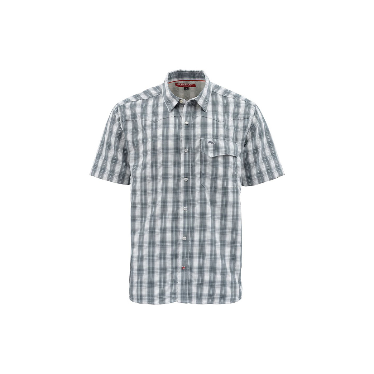 Simms Clothing Big Sky Short Sleeve Shirt