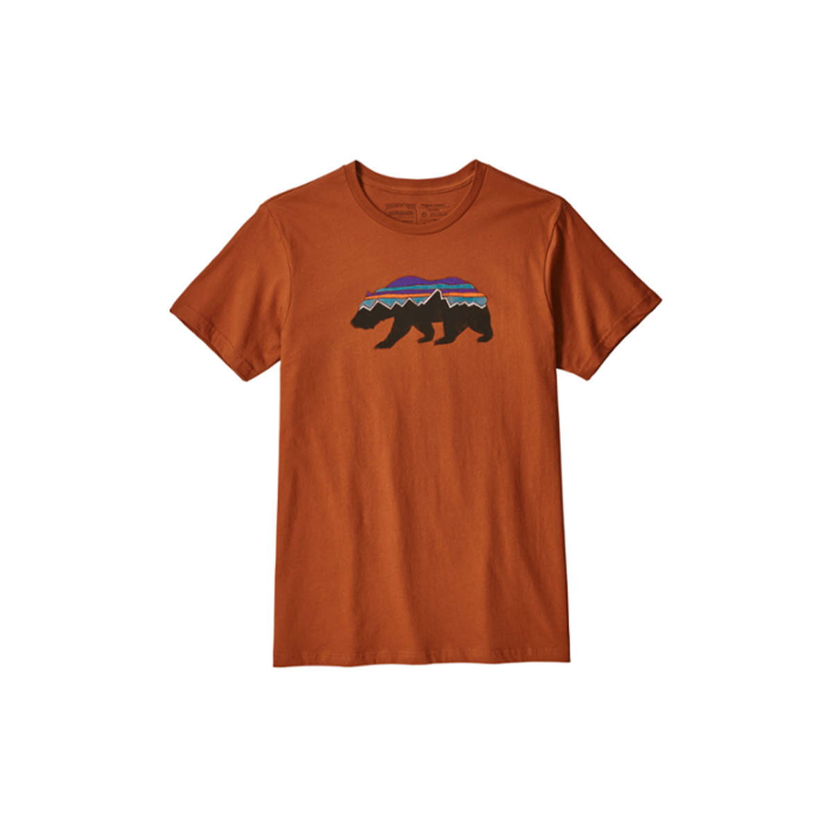 Patagonia Men's Fitz Roy Bear Organic T-Shirt