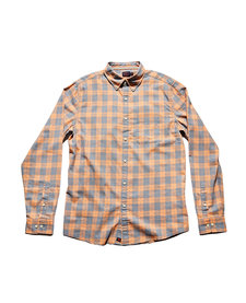 Men's Two Tone Check Button Down
