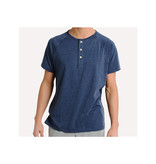 The Normal Brand Men's Puremeso Henley Short Sleeve