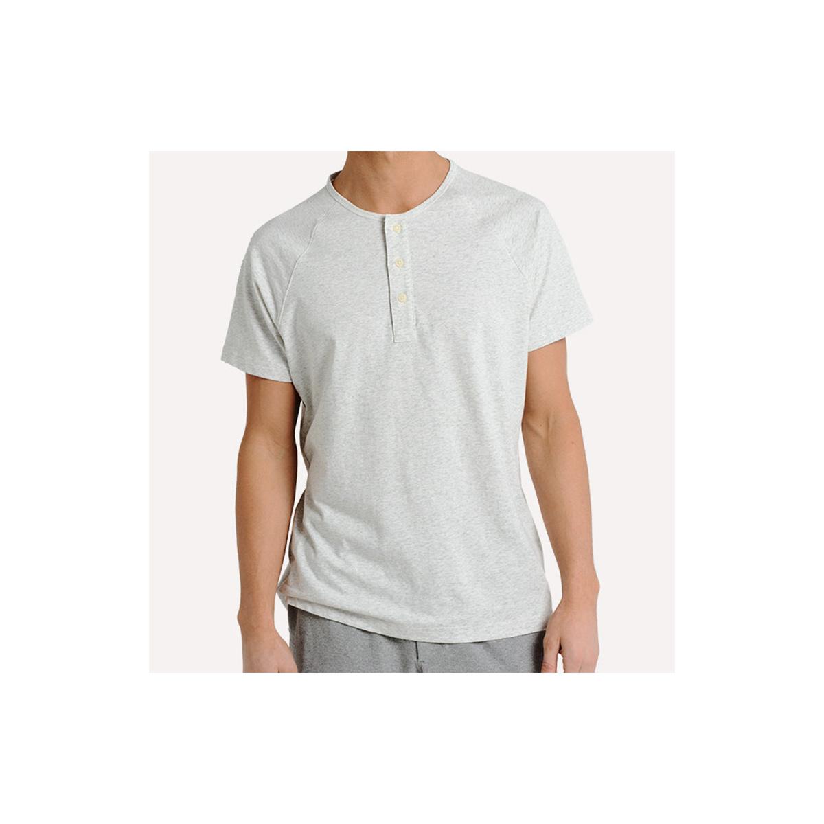 Men's Puremeso Henley Short Sleeve