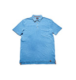Men's Slub Short Sleeve Pocket Polo