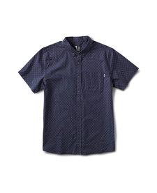 Men's Crest Short Sleeve Button Down