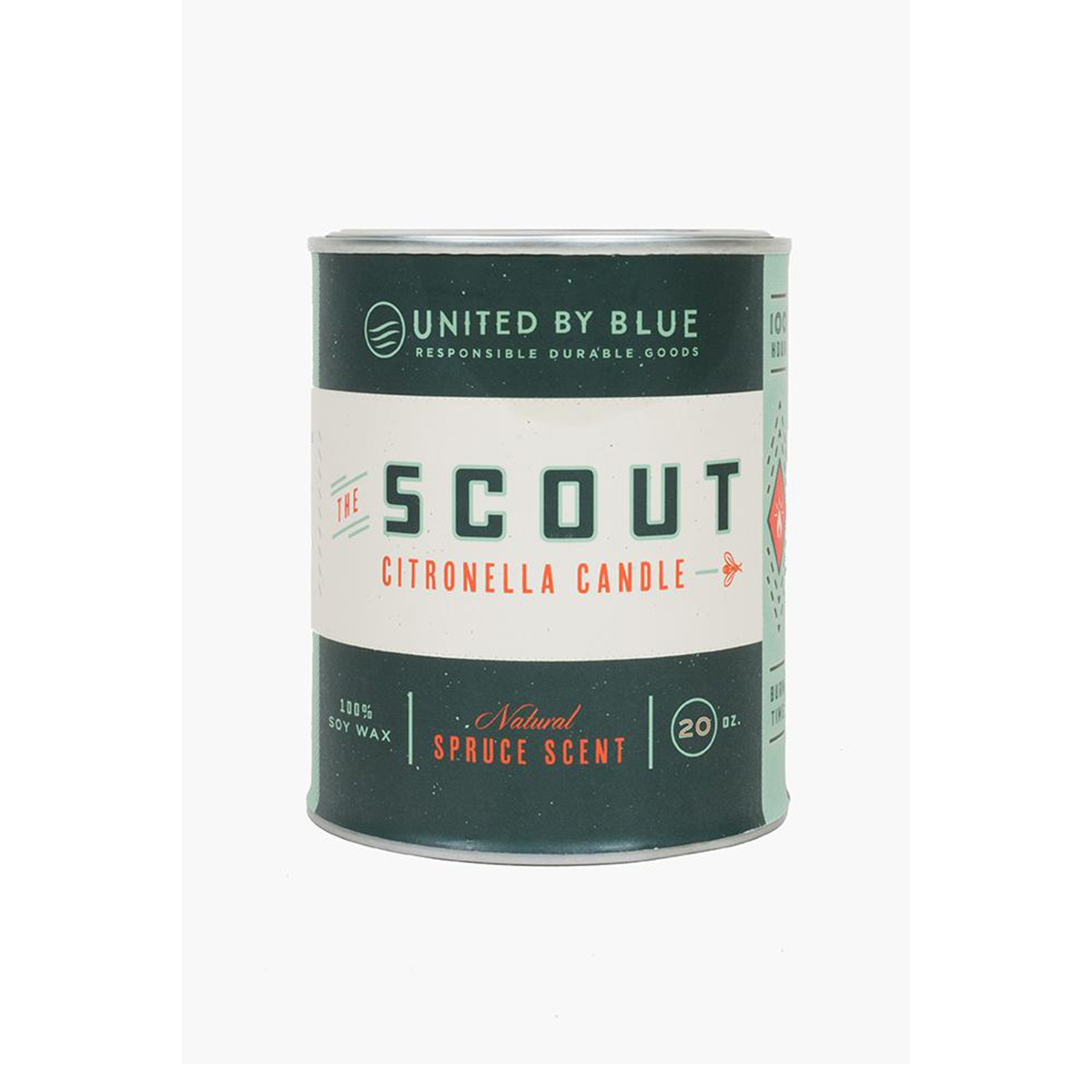 United by Blue Scout Citronella Candle