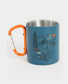 Stainless Carabiner Cup 10oz