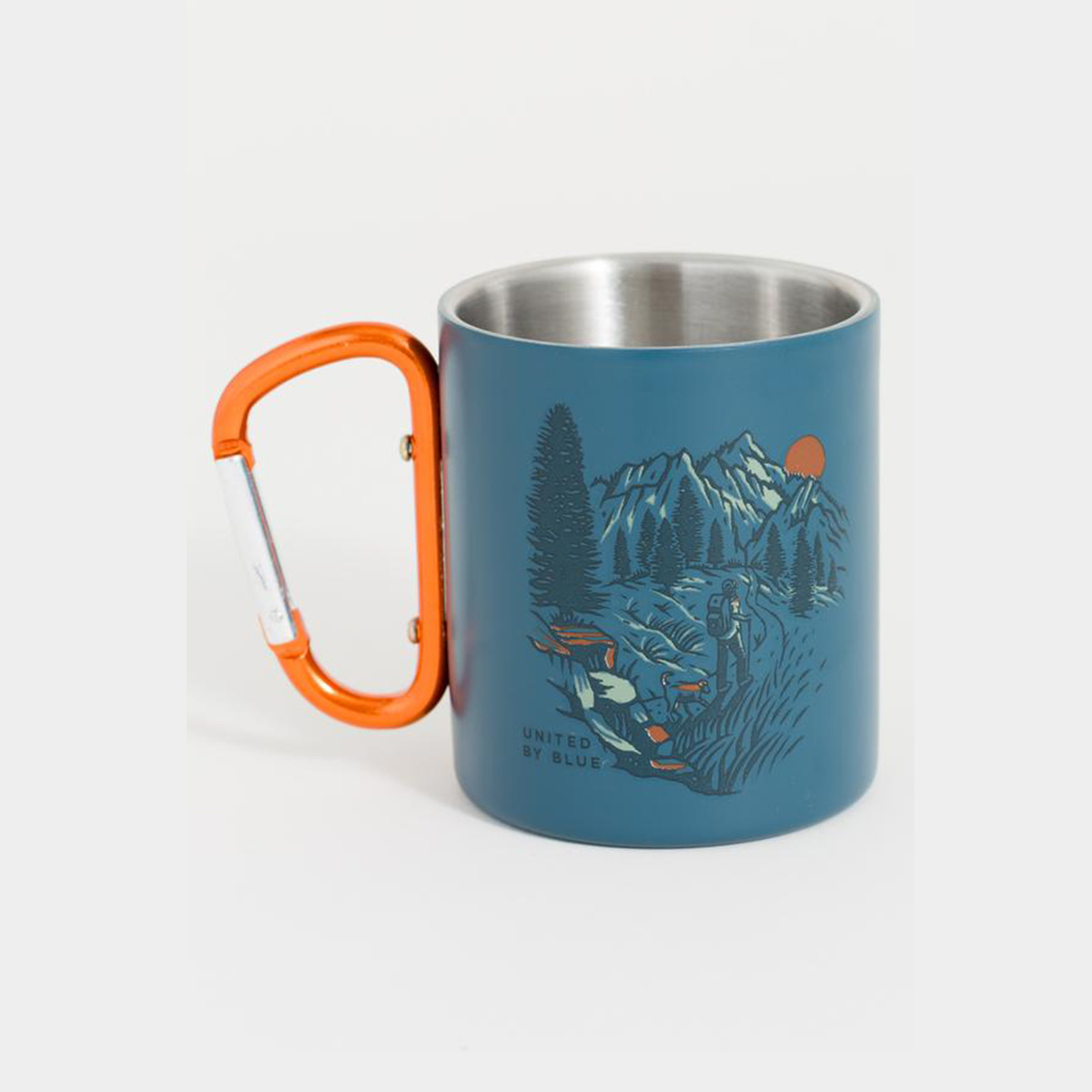United by Blue Stainless Carabiner Cup 10oz