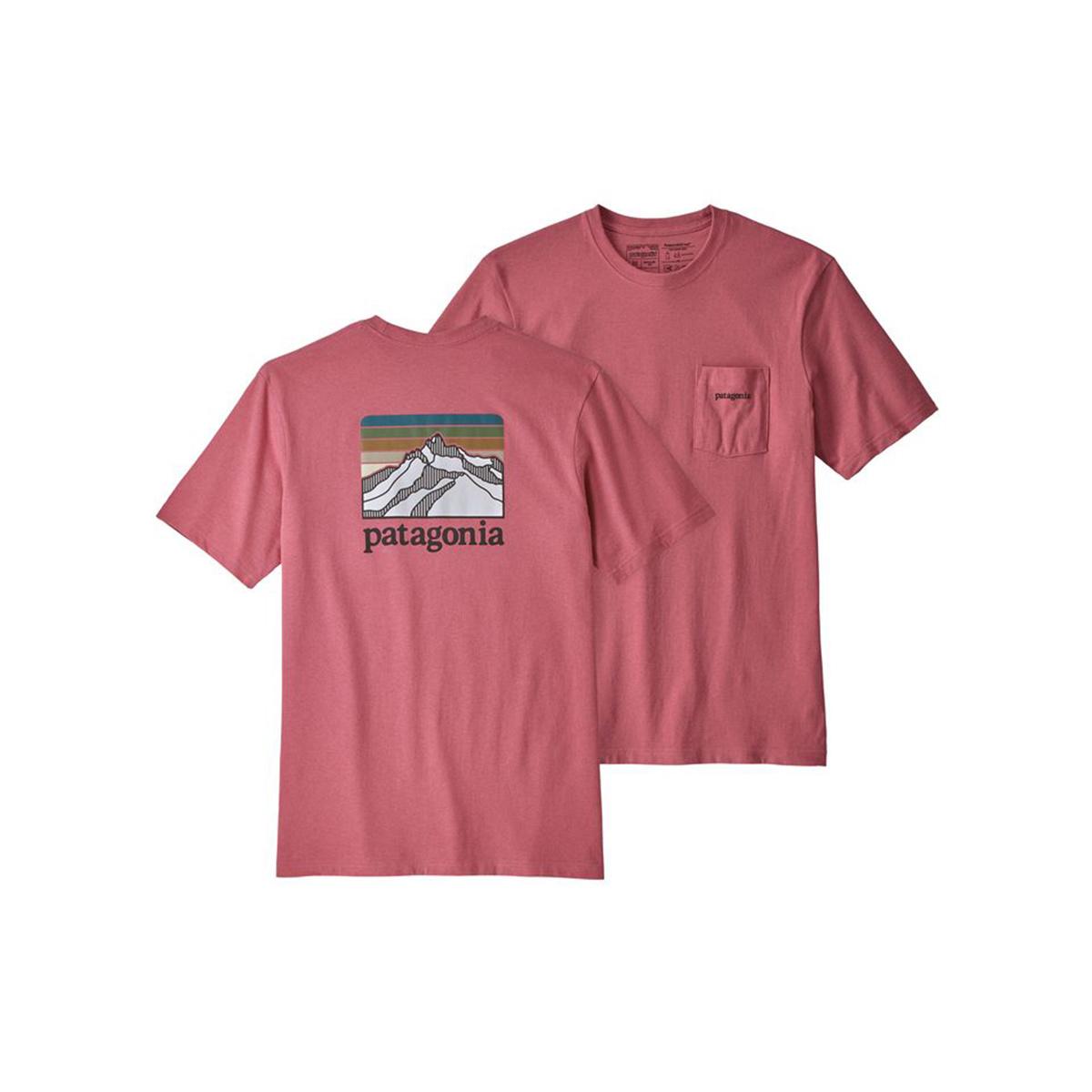 Patagonia Men's Line Logo Ridge Pocket Responsibli-Tee