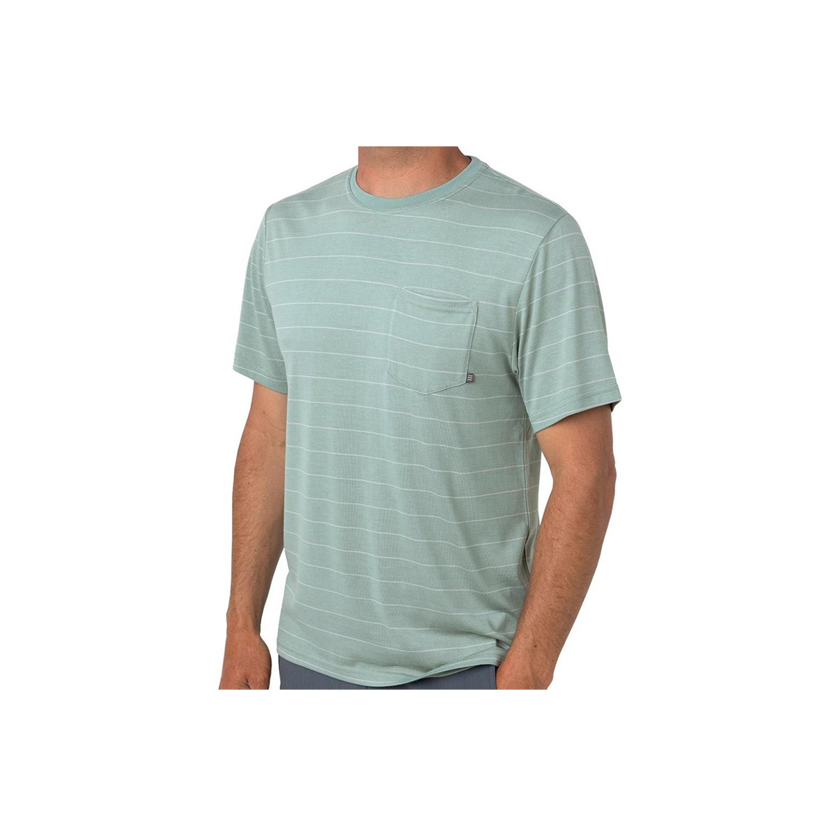Free Fly Apparel Men's Bamboo Channel Pocket Tee