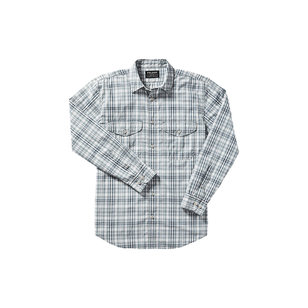 Filson Long Sleeve Feather Cloth Shirt