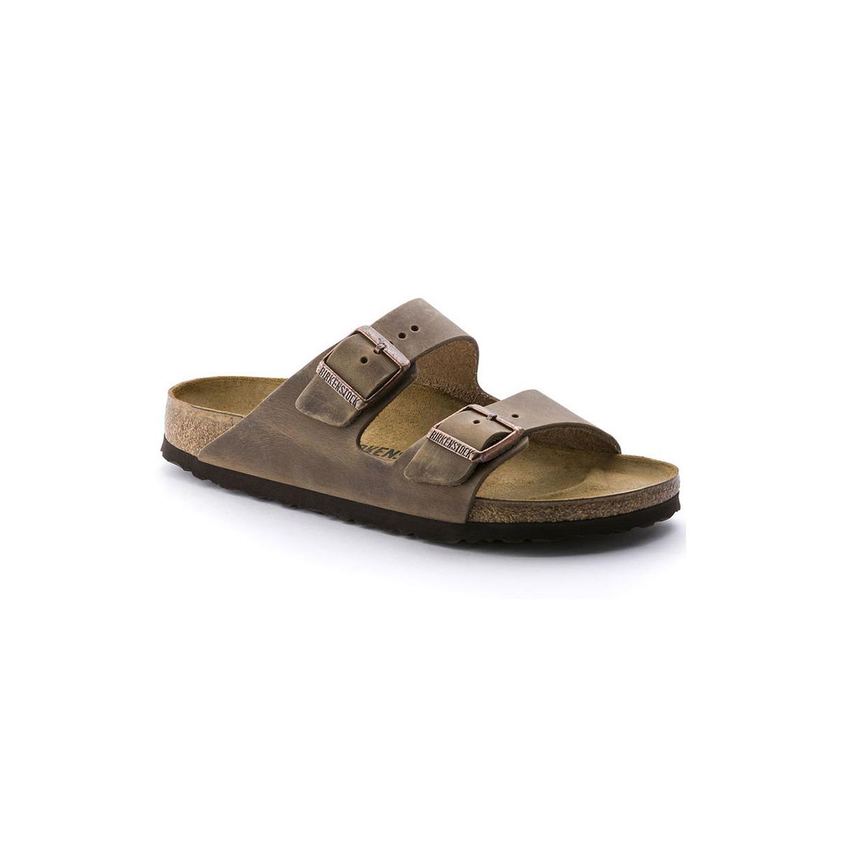 Birkenstock Arizona Soft Footbed Oiled Leather-Narrow