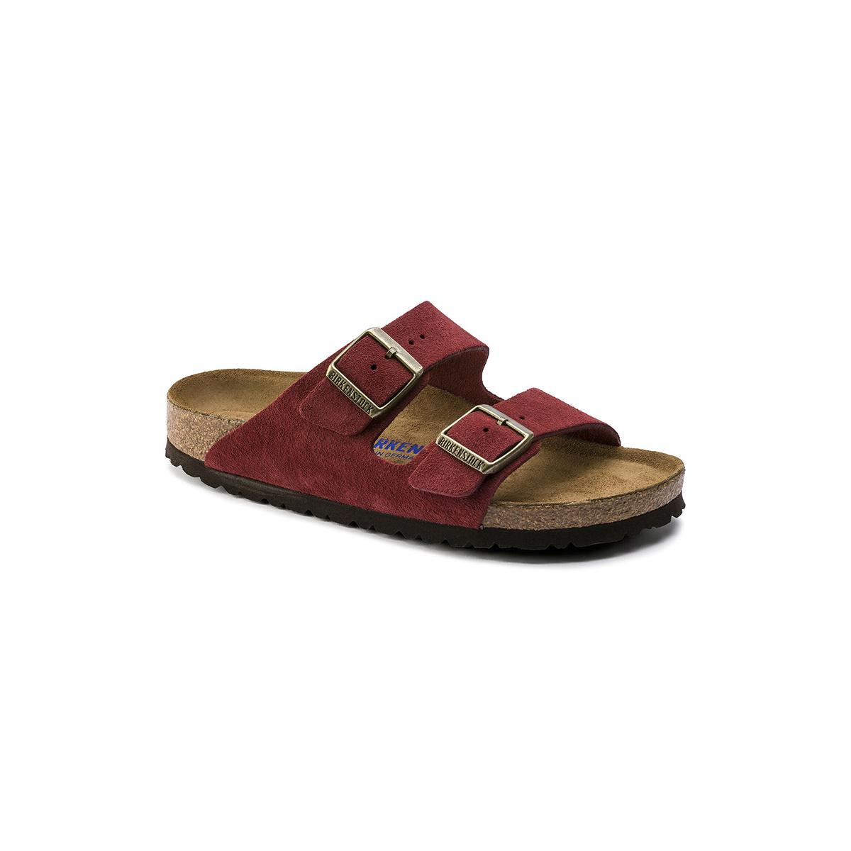 Birkenstock Arizona Soft Footbed Suede-Narrow