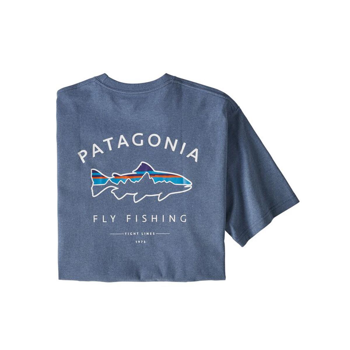 Patagonia Men's Framed Fitz Roy Trout Responsibili-Tee