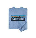 Patagonia Men's Long Sleeve P-6 Logo Responsibili-Tee