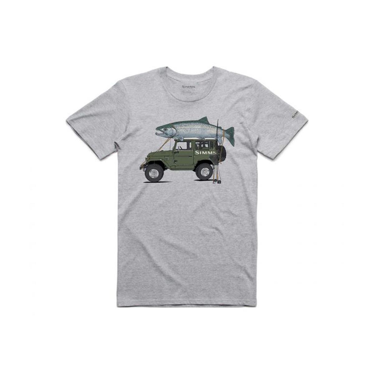 Simms Clothing Men's Trout Cruiser T-Shirt