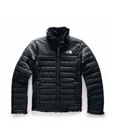 Girl's Reversible Mossbud Swirl Jacket