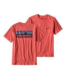 Men's P-6 Logo Cotton Pocket T-Shirt