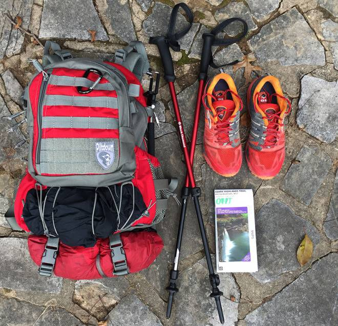 Hiking the OHT Gear List