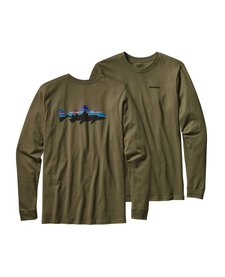 Men's Long-Sleeve Fitz Roy Trout Cotton T-Shirt