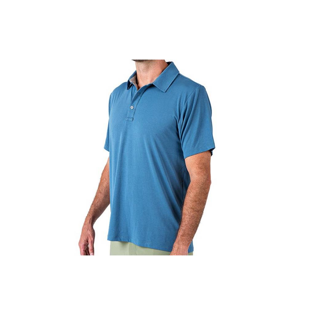 Free Fly Apparel Men's Bamboo Flex Polo