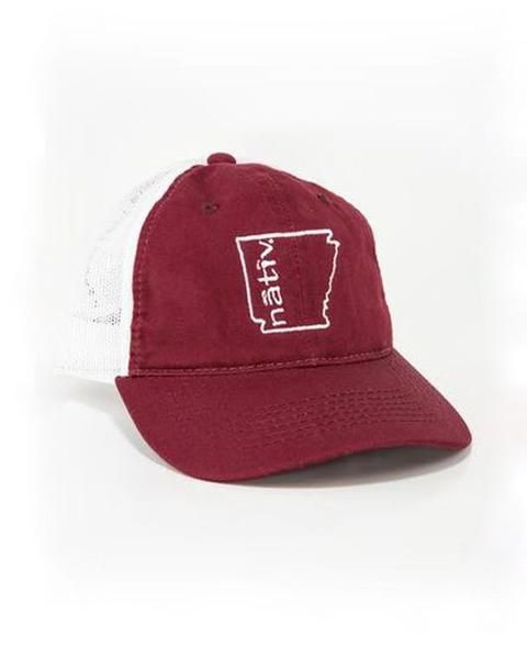 Nativ AR State Trucker Hat