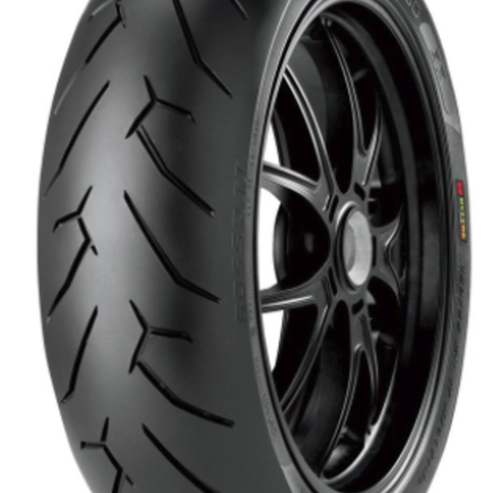 Pirelli Pirelli Street Diablo Rosso II Supersport Rear Tire - 180/55-17