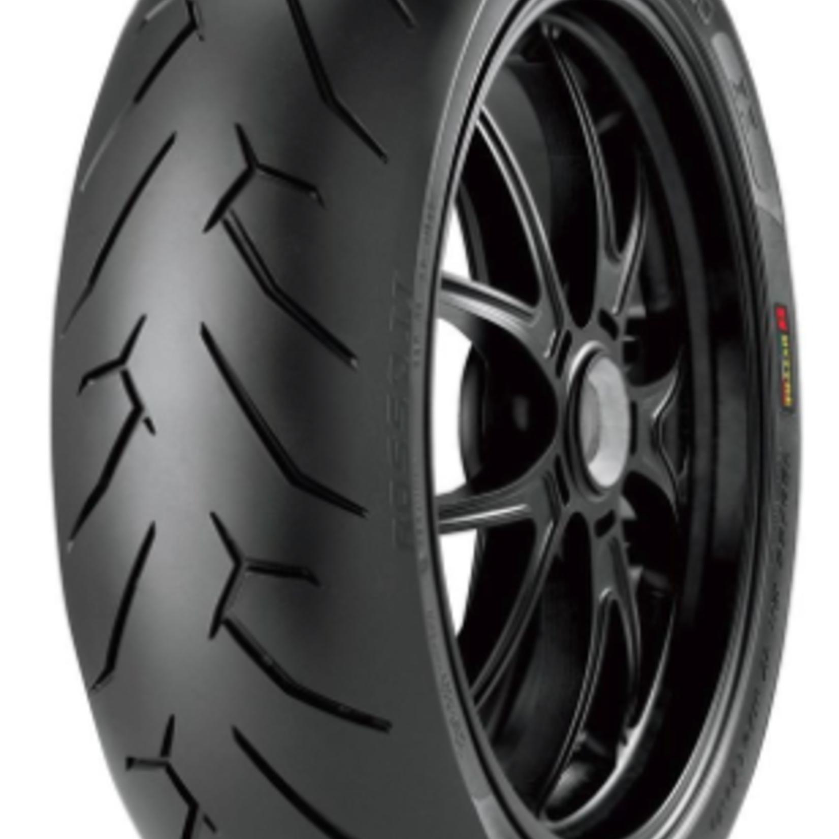 Pirelli Pirelli Street Diablo Rosso II Supersport Rear Tire - 190/55-17