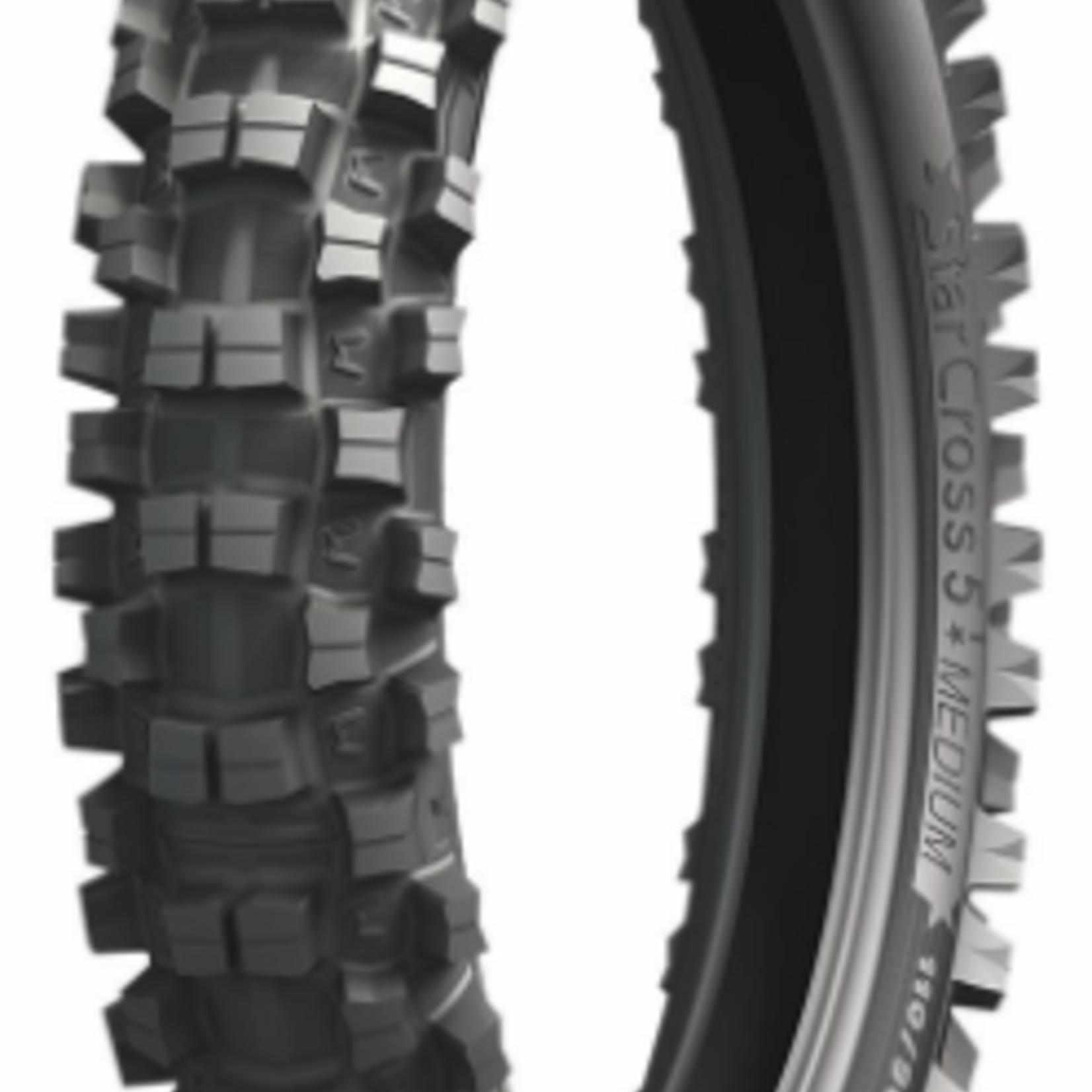 Michelin Michelin Starcross 5 Medium Rear Tire - 110/90-19