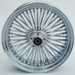 48 Fat Spoke Wheel - Rear - Chrome - 16 x 3.5