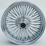48 Fat Spoke Wheel - Rear - Chrome - 18 x 3.5