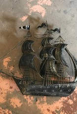 Decorative Tin Sailboat