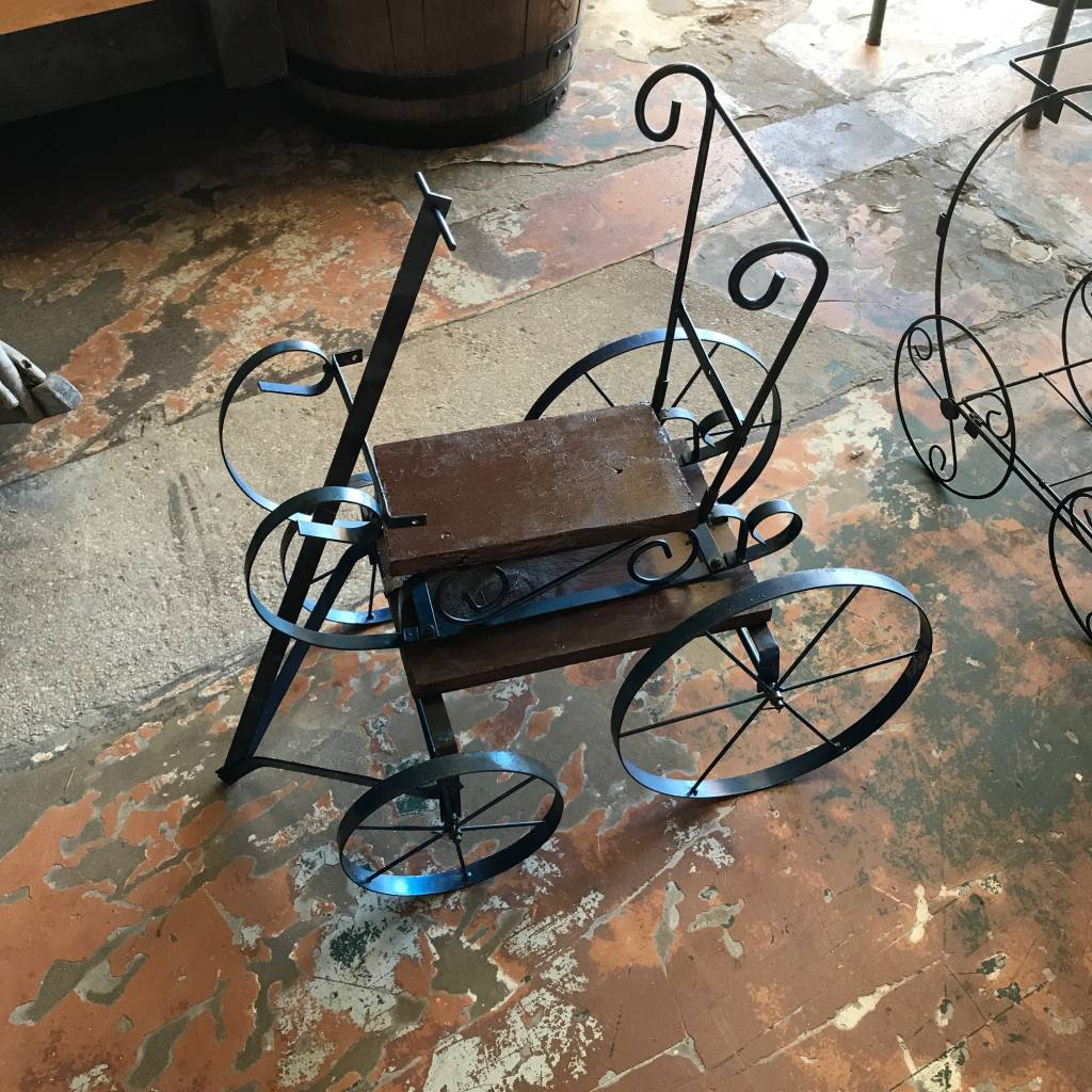Decorative Iron Wagon