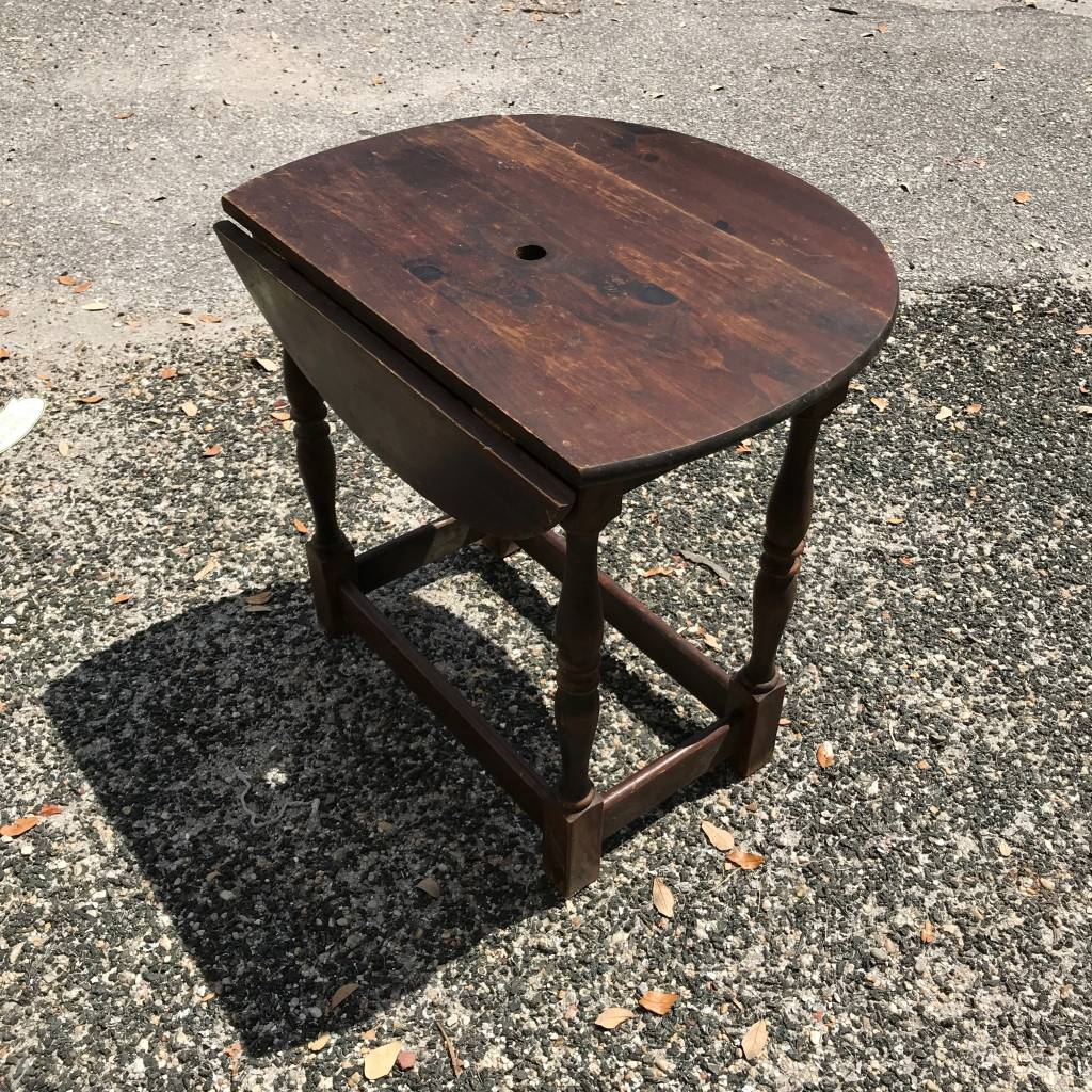 Drop Leaf Side Table Sarasota Architectural Salvage 1093 Central