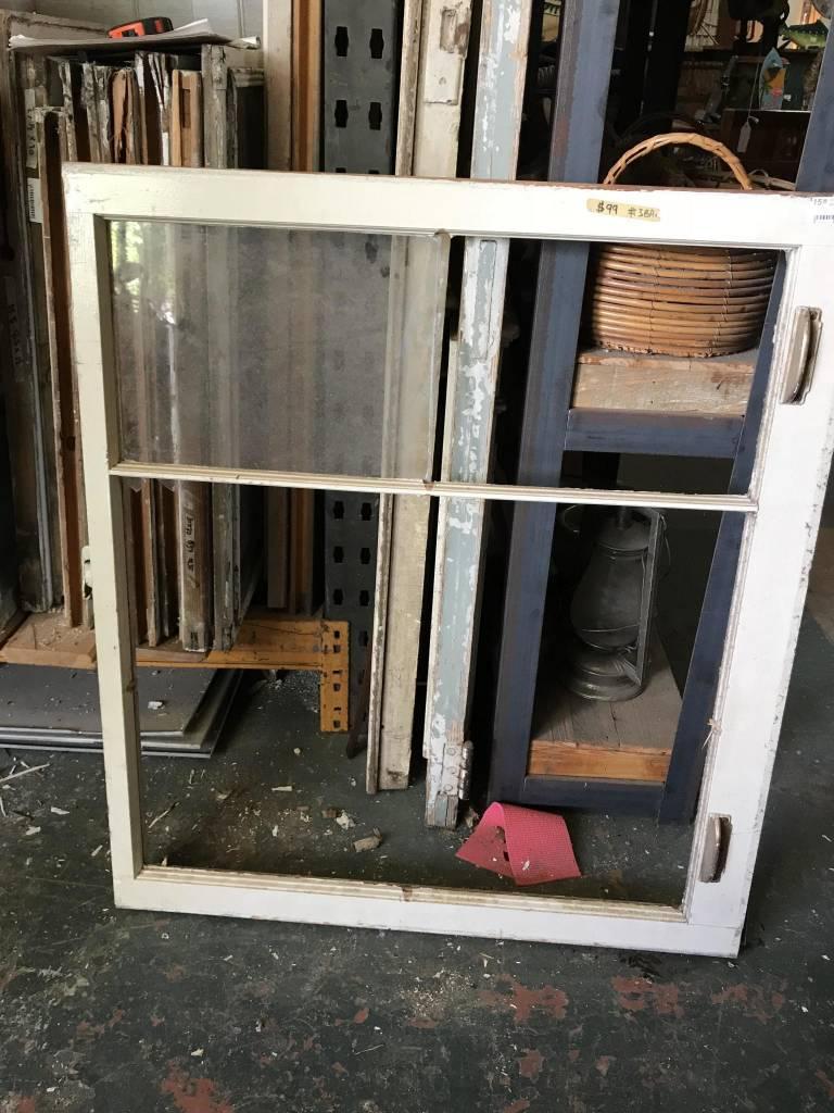 Double Pane Window 32 x 36 inches (Broken)