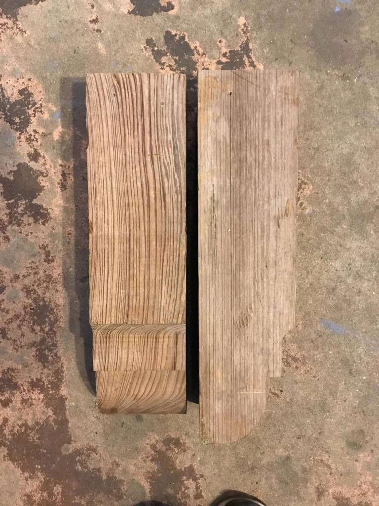 Corbels 18 inches long