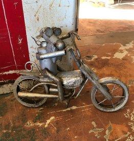 Tin Motorcycle Dog