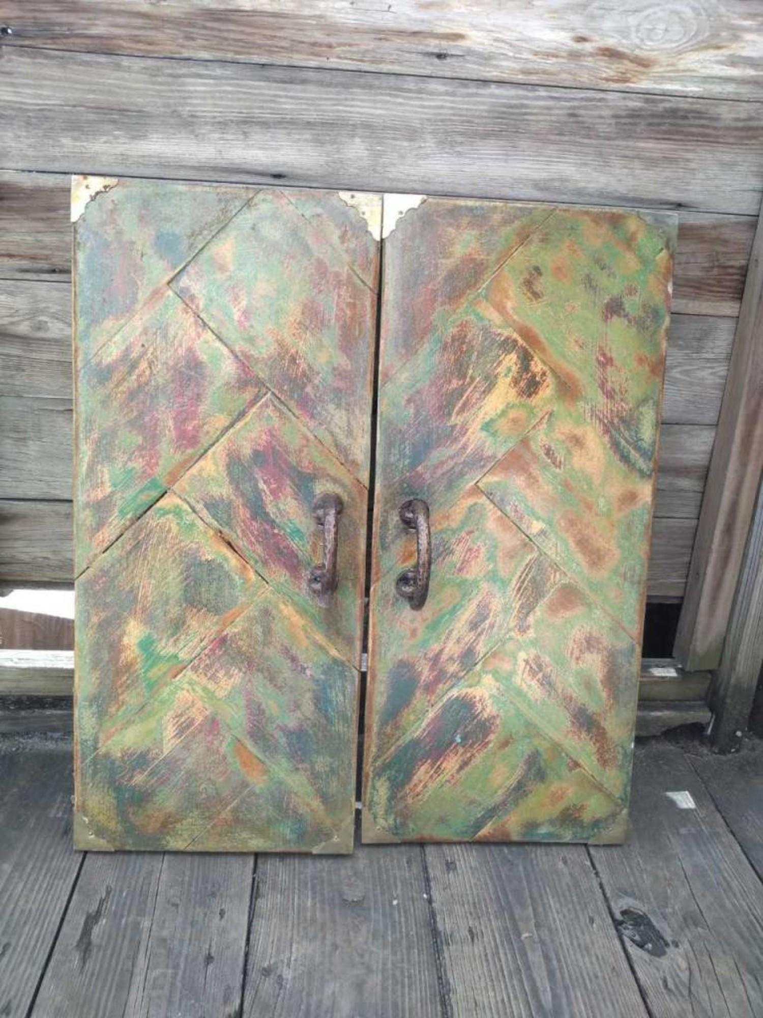 Green Cabinet Doors Sarasota