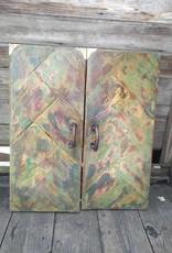 Green Cabinet Doors