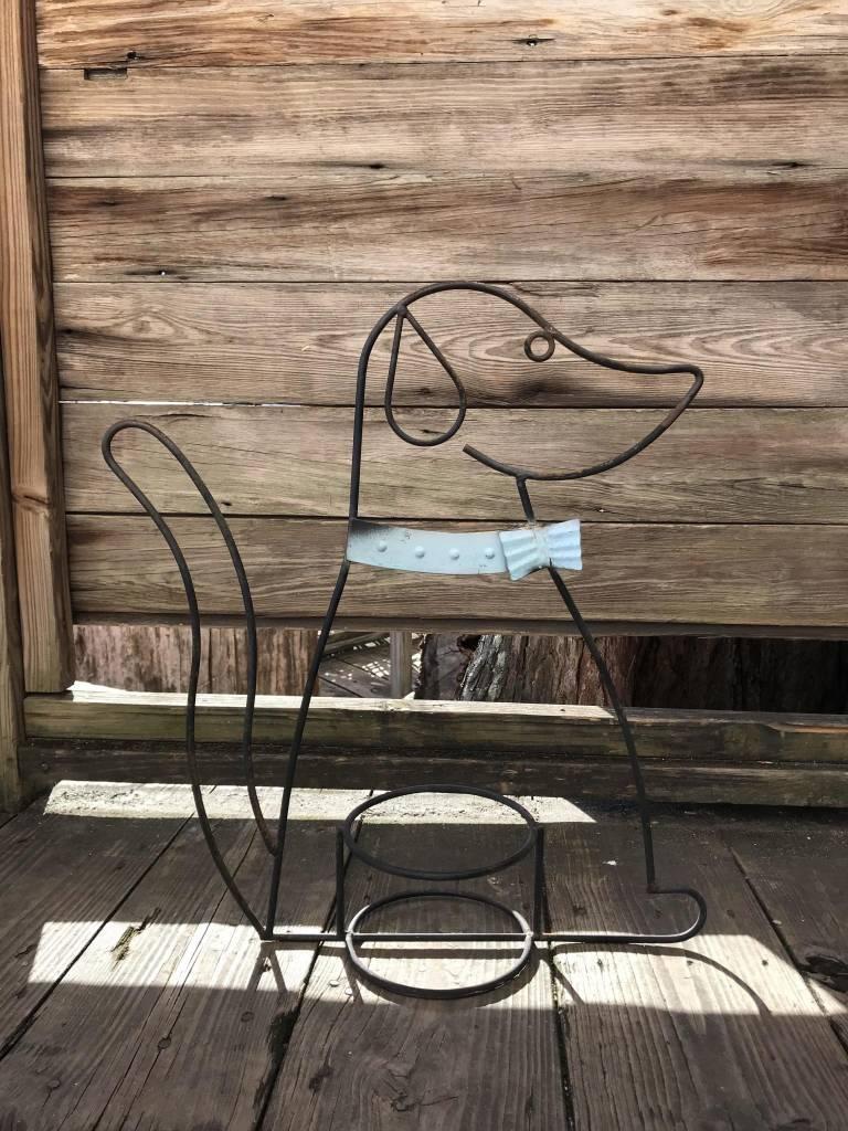 Dog Plant Holder