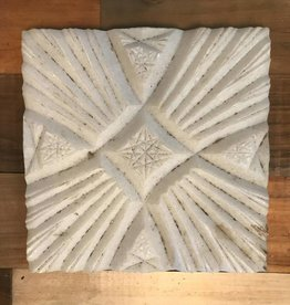 Turkish Marble Tile Cross Star White