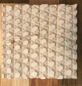 Turkish Marble Tile Diamond Cream