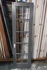 10 Pane Glass Door left 24 1/8 x 82 1/4