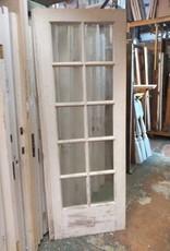 10 Panel Glass Door  29 3/4 x 83 3/8
