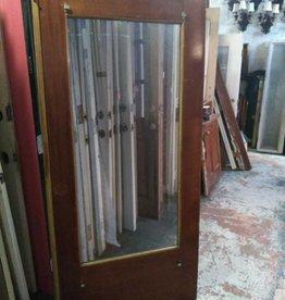 Glass Panel Door  78 1/2 x 36