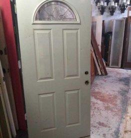 Arched Glass Door 35 1/2 x 79