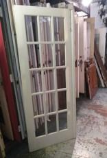 15 Panel Glass Door 30 1/2 x 79 1/4
